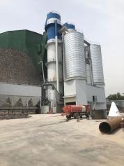 新乡辉县石灰窑用高铝砖,粘土砖以及其他耐火材料的安装施工现场